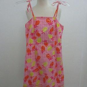 Lily Pulitzer Dress Pink Spaghetti Strap 2